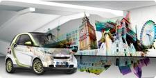 Rys 5. Pojazdy elektryczne adresowane są właśnie do miejskiego taregetu. Przykład Dailmera i modelu Smart.