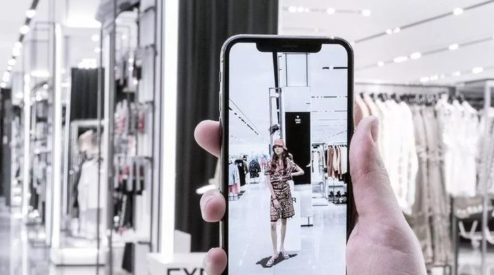 ZARA i Augmented reality (AR)